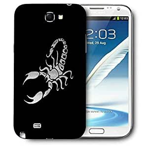 Snoogg Scorpio Printed Protective Phone Back Case Cover For Samsung Galaxy Note 2 / Note II