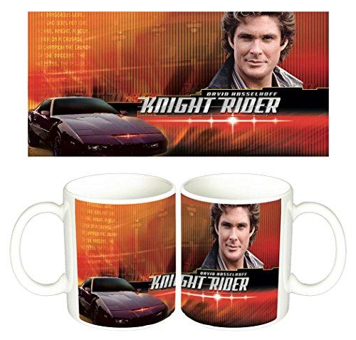 El Coche Fantastico Knight Rider David Hasselhoff A Tazza Mug