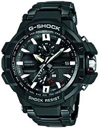 CASIO Herren-Armbanduhr Analog Quarz Edelstahl GWA-1000D-1ER