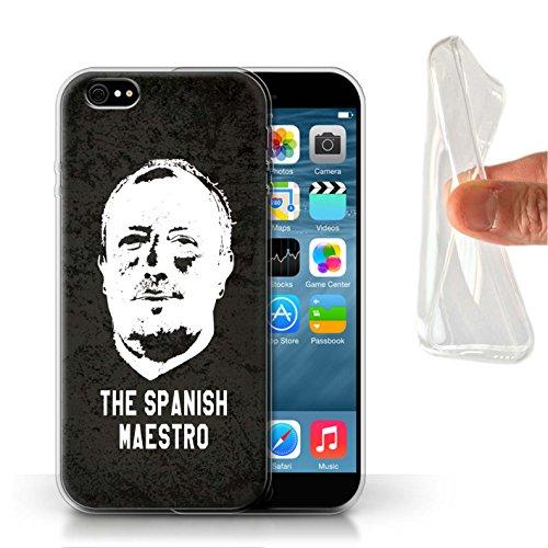 Offiziell Newcastle United FC Hülle / Gel TPU Case für Apple iPhone 6S / Pack 8pcs Muster / NUFC Rafa Benítez Kollektion Spanisch Maestro