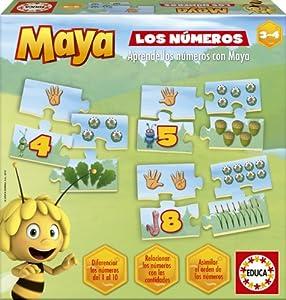 Educa Borrás La Abeja Maya - Los números, Juego Educativo 15669