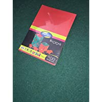 Maildor x 100 sheets thick 150gsm paper card mixed colours! - bargain stick clearances!!