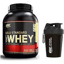 Optimum Nutrition Gold Standard Whey Protein Powder, Banana, 2.27 kg with Shaker