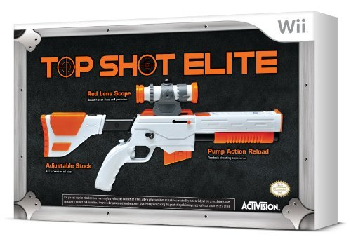 Top-shot-elite-wii (Cabela's Top Shot Elite Firearm Peripheral - Nintendo Wii by Activision)