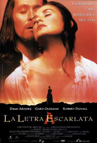 The Scarlet Letter Plakat Movie Poster (27 x 40 Inches - 69cm x 102cm) (1995) Spanish