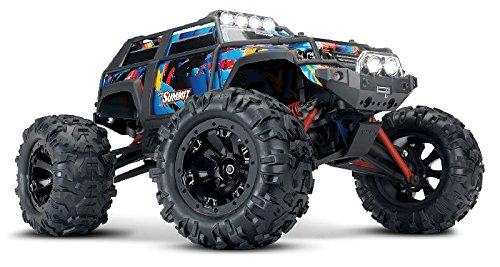 Spielzeug Monster Truck Spur (Traxxas SUMMIT RTR Brushed 2.4GHz mit Licht Rockn Roll 1:16 TRX72054-1)