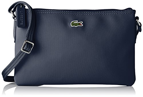 Lacoste Damen NF1887PO Umhängetaschen, Eclipse (Eclipse), 17.5 x 1 x 27 cm (Designer Cross Body Bag)