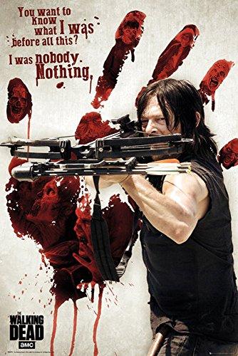 Dead, The-Bloody Hand Daryl-Filmposter Kino Movie Gruselfilme-Grösse 61x91,5 cm, Papier, bunt 91.5 x 61 x 0.14 cm ()