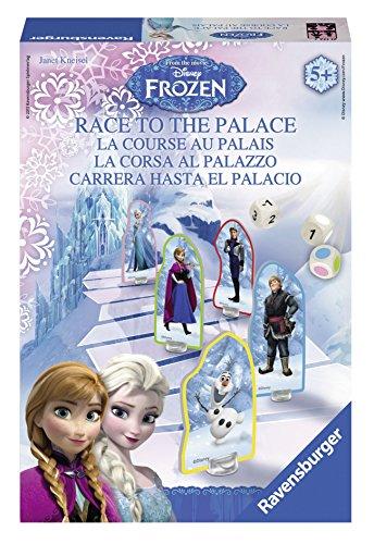 Ravensburger - Disney Frozen: La Corsa al Palazzo, Gioco da Tavolo