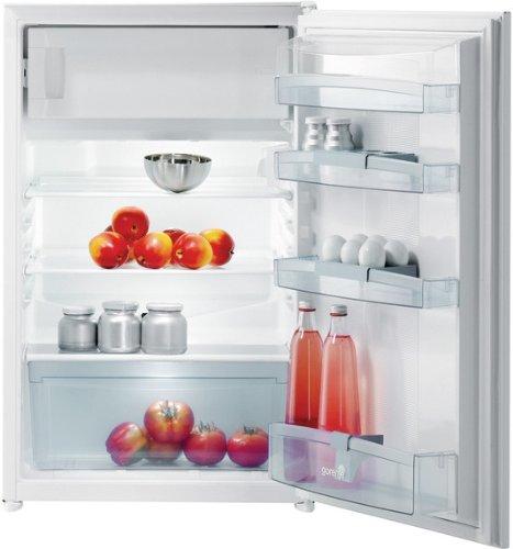 Gorenje RBI4091AW - frigos combinés (Intégré, Blanc, Placé en haut, Droite, A+, N, ST)