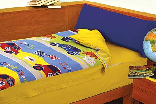 Imagen para Saco Nórdico Coches (SPEEDY, para cama de 90x190/200)