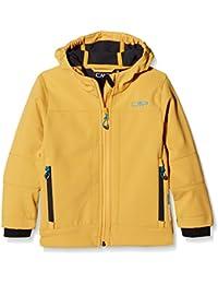 CMP 3a00094 - Chaqueta infantil, primavera/verano, infantil, color Mango-Anthracite, tamaño 128