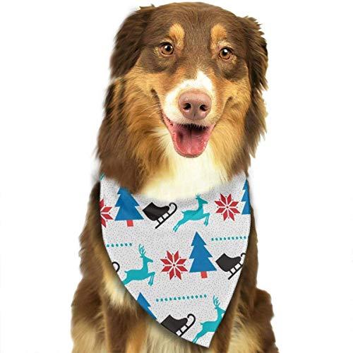 Tmnt Kostüm Girls - Wfispiy Chrismas Pattern Desgin Fashion Pet Bandanas Dog Car Neck Scarf for Unisex Pet Boy Girls