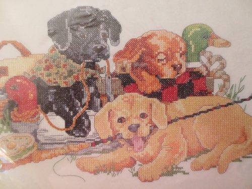Bucilla stamped cross stitch by Bucilla -