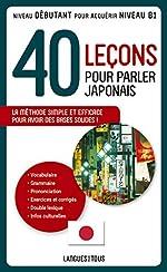 40 leçons pour parler japonais de Jean-Pierre BERTHON
