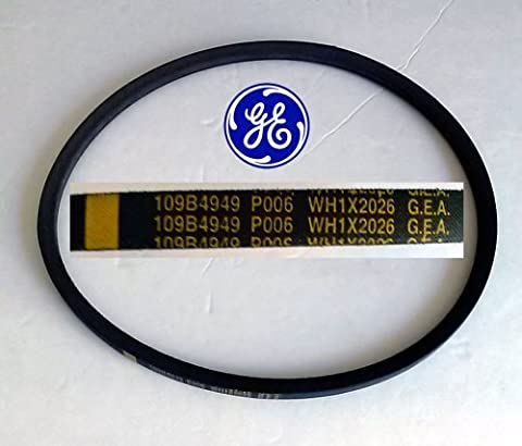 New Genuine Oem Original Heavy Duty Ge Hotpoint Washer Drive Belt Part Wh1x2026 by GE