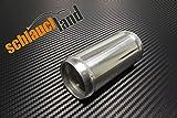 Alu-Verbinder AD 22mm alu poliert*** Alurohr Aluminium Rohr Verbinder Alu Schlauchland Turbo