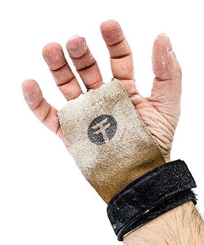 Guantes para Crossfit y gimnasio de TrainedTo; para gimnasia, protege tus manos de rasgaduras y roturas, Medium
