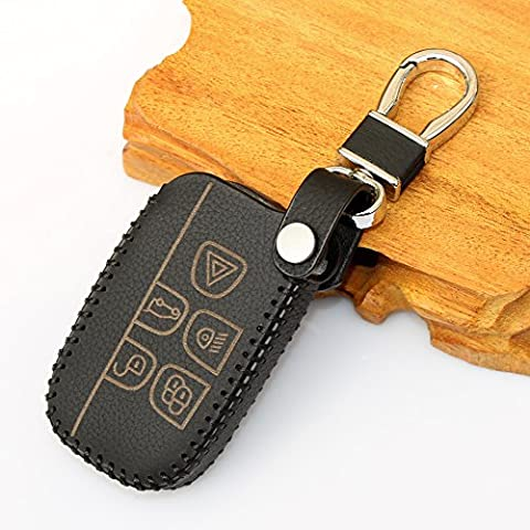 Leder Auto Styling Auto Remote Key Cover Fall holder-fit Landrover