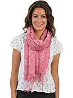 Womens/Ladies Jacquard Shawl Scarves, Size 191 x 67cms, Various Colours