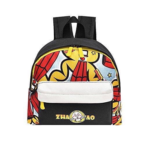 Pingtr - Niedliche Kind-Rucksack,Kind Baby Mädchen Jungen Kinder Cartoon Animal Print Rucksack Kleinkind Schultasche -