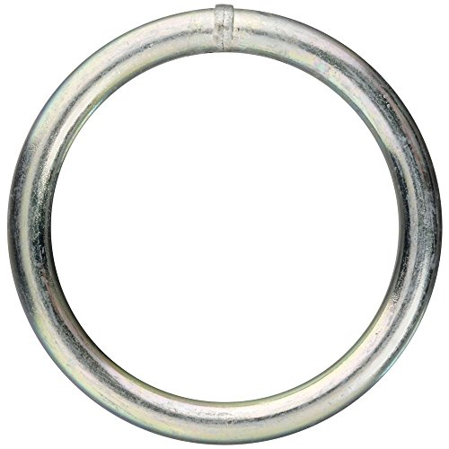 Stanley National Hardware 3155bc # 5,1 x 5,1 cm Zink versilbert Ring (Hardware-ring National)
