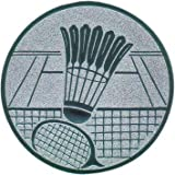 Pokal Emblem Badminton - 50 mm/gold