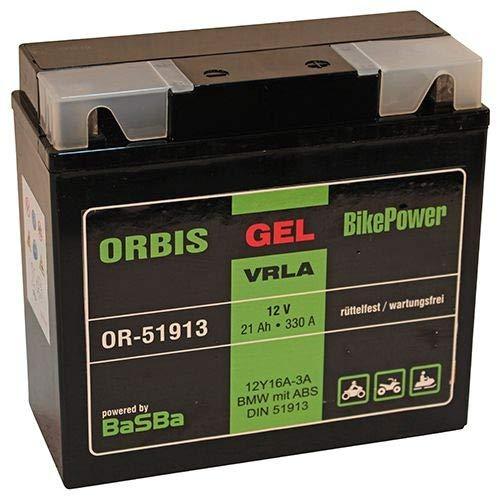 Orbis Gel 51913 G19-12V / 21Ah / 330A Bike Motorradbatterie