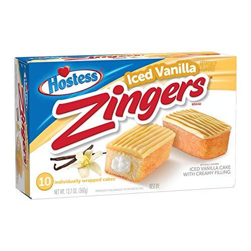 Hostess Iced Vanilla Zingers ...