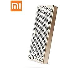 Xiaomi Bluetooth Altavoz estéreo Manos libres Speaker Wireless Mini Apoyo de SD Oro