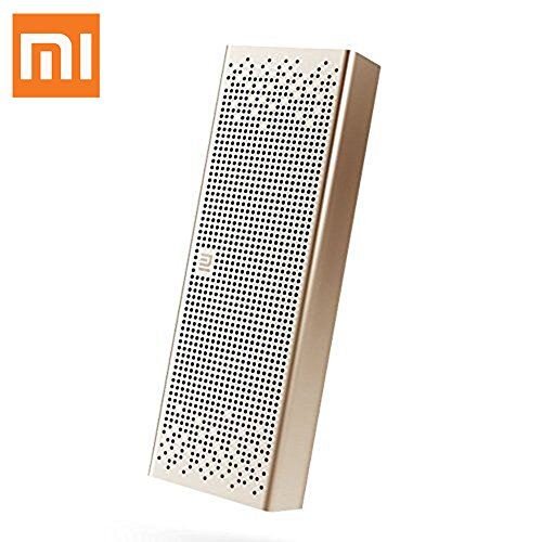 Xiaomi Bluetooth Altavoz estéreo Manos libres Speaker Wireless Mini Apoyo de SD Oro