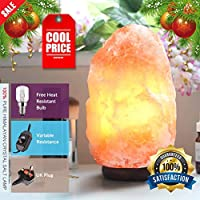 Magic Salt 100% PREMIUM QUALITY NATURAL PINK HIMALAYAN CRYSTAL ROCK SALT LAMP WITH CE CERTIFIED ELECTRIC FITTING ACCORDING TO UK STANDARD BY from Himalayan Salt Products Ltd