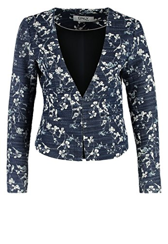 ONLY PRINTED SHORT BLAZER M