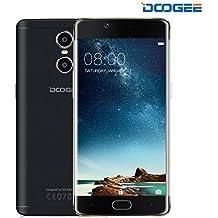 SmartphoneLibre, DOOGEE Shoot 1 MovilesLibresBaratos 4G - 8MP + 13MP Cámara - MT6737T 1.5GHz Quad Core - Android 6.0 - 5.5 PantallaFHD - 2GB RAM + 16GB ROM - Dual SIM - Batería de 3300mAh Carga Rápida, Touch ID, OTA - (Negro)