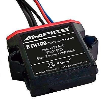 AMPIRE-BTR100-universal-Bluetooth-Adapter-zum-Musikstreaming-mit-Auto-Remote-wasserdicht-perfekt-fr-Kfz-Auto-Home-Hi-Fi-Boot-Marine