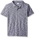 Gymboree Big Boys' Pocket Polo Shirt, Blue Microstripe, 5