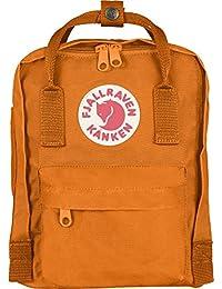 Fjällräven kånken mini mochila todos los días, 20 x 13 x 29 cm, 7 Liter, color Naranja - naranja oscuro, tamaño 7 L