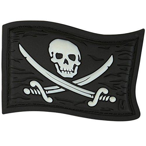 Maxpedition Jolly Roger (Glühen) Moral Patch