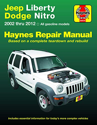Jeep Liberty & Dodge Nitro from 2002-2012 Haynes Repair Manual: (does Not Include Information Specific to Diesel Models) (Hayne's Automotive Repair Manual) - Diesel Manual