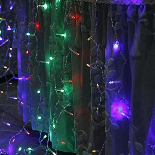 Eis Streifen Licht, 3 * 3m300led, Acht-Funktions-USB-Fernbedienung Licht, Urlaub Hochzeit Dekoration, Farbe light_3 * 1 Meter 100 Lichter