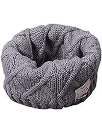 Fortuning's JDS De lana de punto pañuelos bufandas circulares suaves y cálidos para Niños