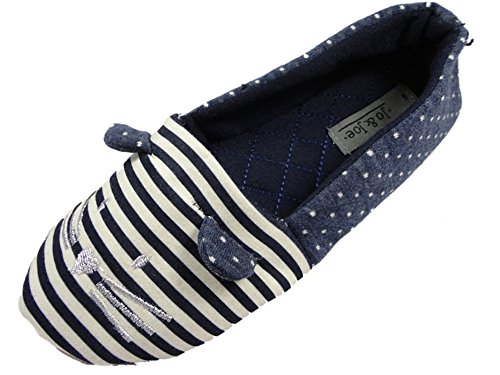 Jo & JoeMarquis - Pantofole donna Navy