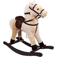 small foot company 4101 - Cavallo a dondolo - Tessuto Cavallo