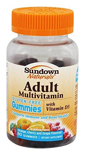 Sundown Naturals - Adulto Gummies glutine multivitaminico