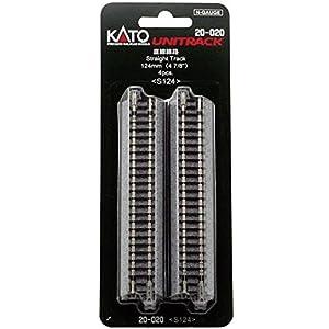 Kato 7078003 Unitrack Gleis - Sólo 124 mm Pista