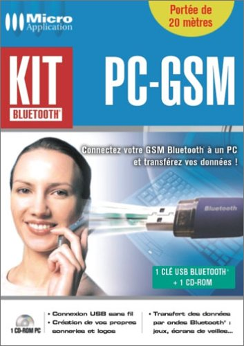 Kit Bluetooth PC-GSM (Gsm-kit)