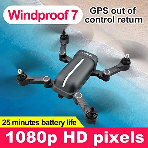 bloatboy S3 RC Drone quadricottero - 5 MP 1080 P grandangolo WiFi FPV HD Fotocamera GPS Seguire RC Drone Quadcopter