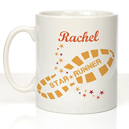 Tazza personalizzata running runner Name Gift Keep