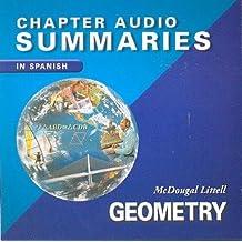 Geometry Chapter Audio Summaries CD (Mcdougal Littell High School Math)