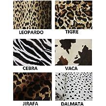 Tela de Mutón con estampado de Animales - Leopardo, Unica